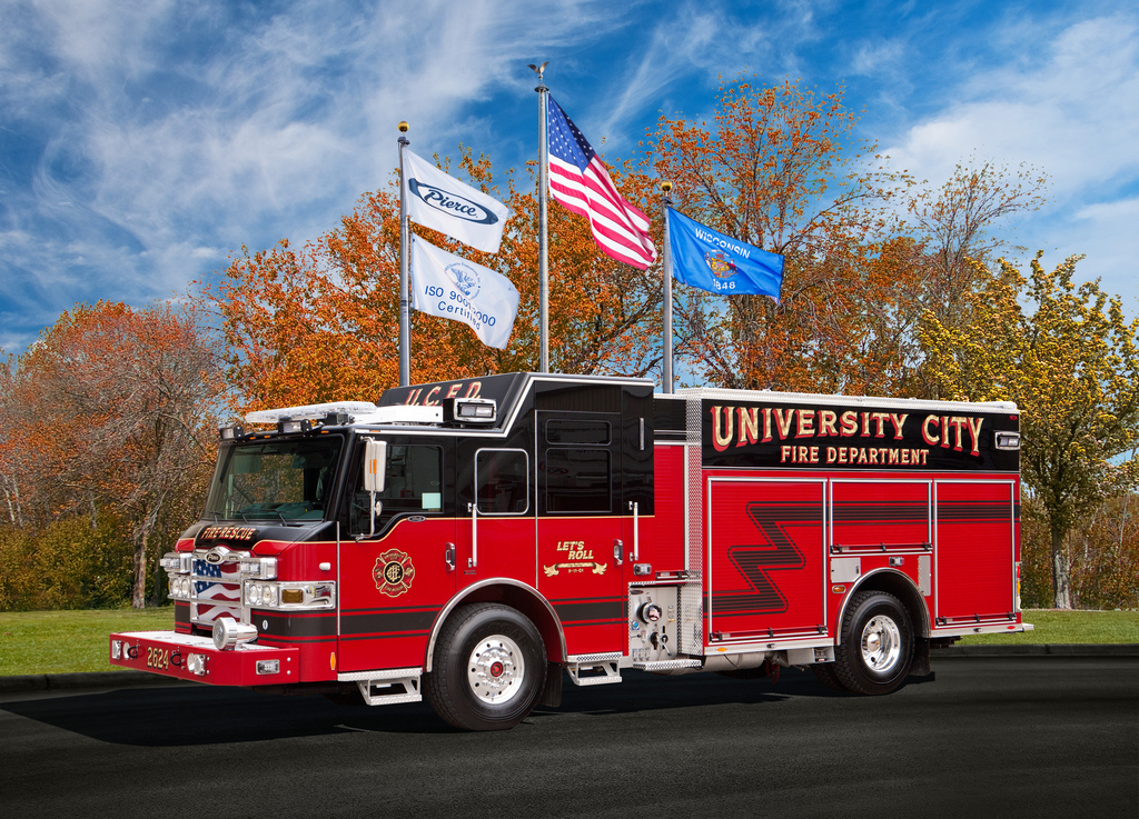 2012 Pierce Velocity Pumper Truck
