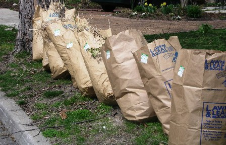 Archived Yard Waste Stickers Are Required On All Paper Bags